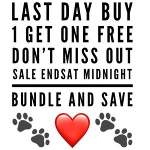 LAST DAY OF BUY ONE ITEM GET ONE FREE 3/28